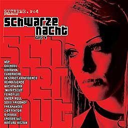 SCHWARZE NACHT 4 CD Diorama WUMPSCUT Feindflug ASP