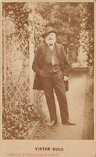 Victor HUGO Photographie cdv. Hauteville House. Guernesey.