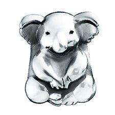 Authentic NEW Chamilia Silver Koala & Baby Bead GB-40 - RETIRED!