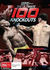 UFC - The Ultimate 100 Knockouts (DVD, 2014) New - Region 4
