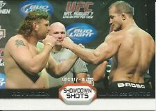 Roy Nelson Junior dos Santos 2011 Topps UFC Moment Of Truth Showdown Shots #SSND