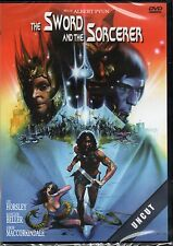 The Sword and The Sorcerer , 100% uncut , dvd , new and sealed