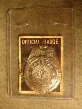 Old Vtg Antique Collectible Special Police Official Badge Toy