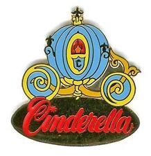 Cinderella'S Coach Light Blue Carriage Gold Older Le 20000 Wdw Disney Pin 1221