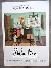 BABOULENE Eugène Affiche originale Atelier Gal Barlier Ecole provençale Toulon