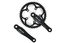 Steel Universal Double Chainring Chainsets & Cranks