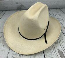 Vintage Resistol Western Hat Self Conforming Shangtung Size 7 1/8  Brim 3 1/2
