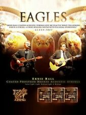 Eagles Glenn Frey Don Henley Takamine Ernie Ball Acoustic Guitar Strings Poster