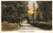 POSTCARD   SHROPSHIRE   MARKET  DRAYTON    The  Aquaduct