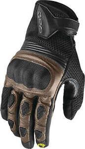 EVS Assen Street Gloves Leather and Mesh w/ Carbon Fiber Knuckle
