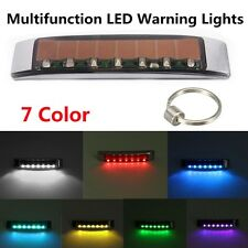 Solar Wireless LED Car Dash Strobe Lights Flash Emergency Warning Safety Lamp