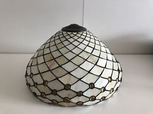 Tiffany Style Leaded Glass Large Lampshade/Ceiling/Standard