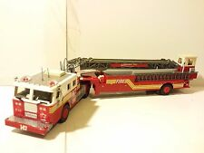 Code 3 N.Y.F.D. Flatbush Seagrave 100ft. Aerial Ladder Tractor Drawn 147 vt