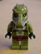 Lego Legends of Chima - Crocodile Warrior 2 ( Krokodil Kämpfer grün ) Figur Neu