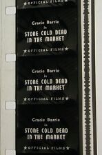 GRACIE BARRIE STONE COLD DEAD IN THE MARKET 16MM FILM MOVIE ROLLED NO REEL E9