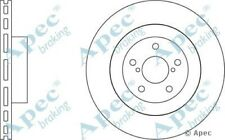 1x OE Quality Replacement Front Axle Apec Vented Brake Disc 5 Stud 295mm Single