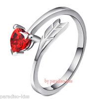 Anello da Donna regolabile free cuore rosso DAN61