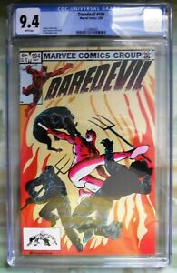 Daredevil 194 Marvel Comics 5/83 CGC 9.4 White Pages