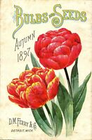 fine art posters abridged catalogue plants seeds tools spring 1911 poster