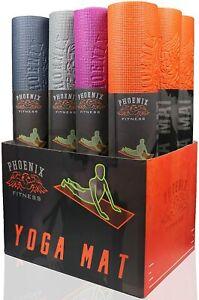 Fitness Exercise Mat Gym Training Large Yoga Pilates Stretching Padded Workout