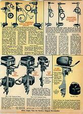 1969 ADVERTISEMENT Outboard Motor Eska Clinton Phantom Electric Silentrol Rocket
