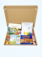 Easter gift Hamper for kids childrens letter Box Personalised chocolate