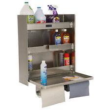 Wall Mount Storage Cabinet Shelving Aluminium Unit Garage Tools Organizer Shelf