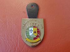 INDIA Portuguese prisioneirs of war metal badge RARE