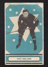 1933 OPC V304A #16 Ott Heller Vintage New York Rangers NHL Hockey 1933-34