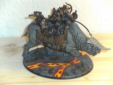 """Der Herr der Ringe Mordor Große Gorgoroth Bestie """"Pro Painted"""" Lava TOP bemalt"""