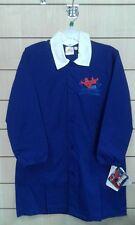 GREMBIULE scuola bambino SPIDERMAN blu' con ricamo e colletto bianco tg. 10 anni