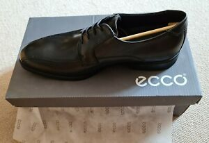 Ecco Melbourne Leather Formal Casual Lace-Up Derby Dress Mens Shoes
