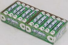 Lifesavers Wintergreen 20 Rolls Box Candy Wint O Green Mint Mints Candies Bulk