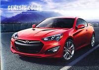 2016 Hyundai Genesis Coupe 12-page Original Car Sales Brochure Catalog