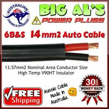 6 metre x 6 B&S Twin Core, Sheath Automotive Auto Dual Battery Cable Wire 12v