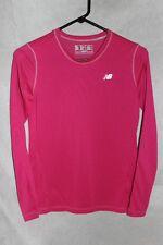 Women's New Balance Long sleeve T shirt style tops, Heat layers, X Small  Pink