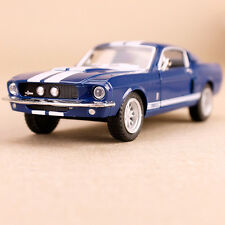 1967 Blue White Shelby GT500 Detailed Model Car 1:38 Die-Cast Pull-Back Action