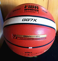 Molten GG7X 7 PU Men's Basketball In/Outdoor Basketball Fun Training w/Bag & Pin