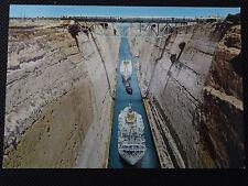 Corinth - The Isthmus Postcard