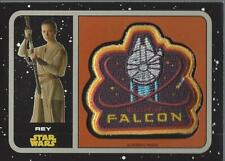 2015 Star Wars Journey to The Force Awakens Patches #P6 Millennium Falcon Rey