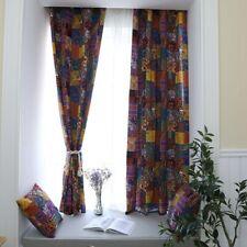 1PC Curtain Bohemian Style Window Drapes Retro Ethnic Home Hotel Decorations