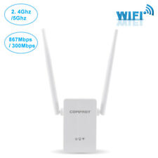 1200Mbps WiFi Range Extender Wireless Network Repeater Signal Booster Antenna Us