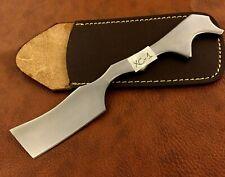 Handmade 420 High Carbon Steel Straight Razor-Cut Throat-Kamisori-Sheath-XC1