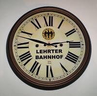Lehrter Bahnhof, Deutsche Reichsbahn (Lehrte Station) Wall Clock Berlin Germany