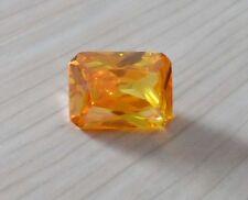 Wholesale AAAAA Yellow Sapphire Emerald Faceted Cut VVS Loose Gems U Pick Size