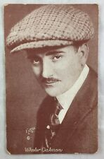 Rare Antique Postcard Film Actor Wheeler Oakman Arcade Card Photo PC