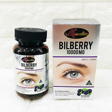 Auswelllife Bilberry 10000mg Eyes Vision Health 60 Caps Imported from Australia