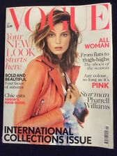 Vogue Magazine September 2013 Daria Werbowy 'International Collections Issue'