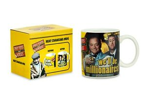 Only Fools and Horses Official Millionaires Heat Change MUG In Gift Box
