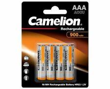 Máxima Calidad 8 Acumulador Pilas Recargables Baterías AAA R03 LR3 900mAh